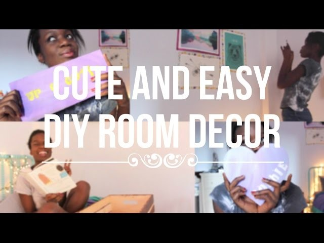 Cute and Easy DIY Room Decorations
