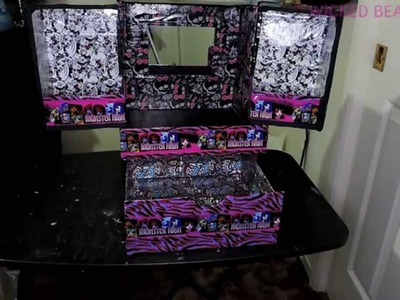 DIY BOX #23: MONSTER HIGH BOX #2