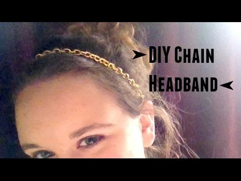 DIY Chain Headband