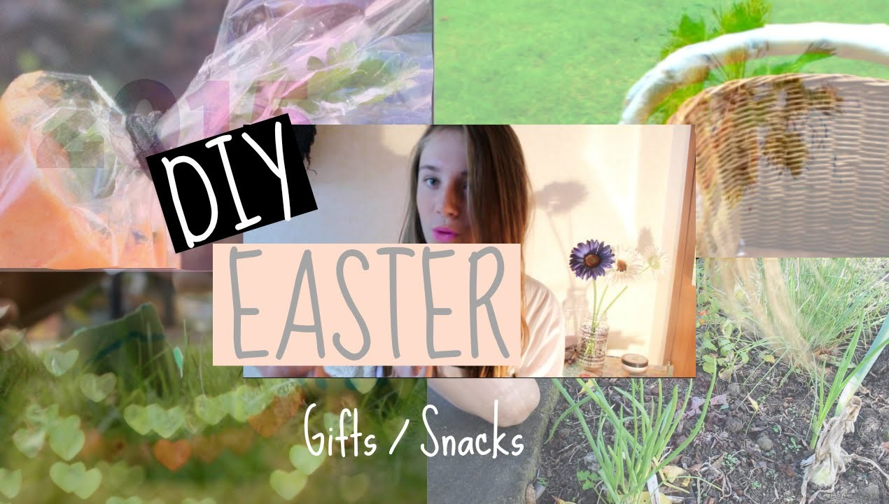 DIY Easter gifts. snacks!❤