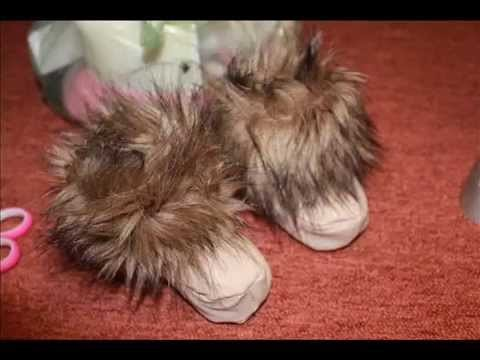 DIY HOMEMADE EASY BABY SHOES