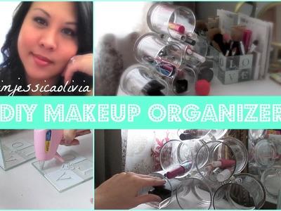 DIY Makeup Organizer - with IMJESSICAOLIVIA