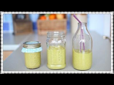 DIY: Mango & Avocado Smoothie Recipe | Haley Canter