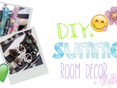 DIY Room Decor + Organization For Summer! ☼