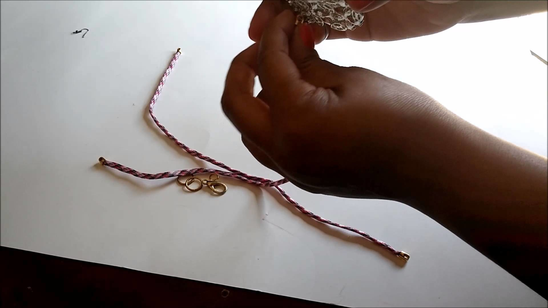 DIY Shourouk Necklace