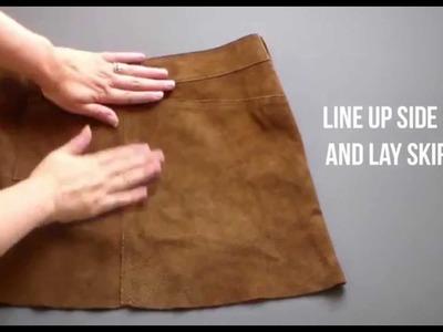 DIY Upcycled Leather Apron