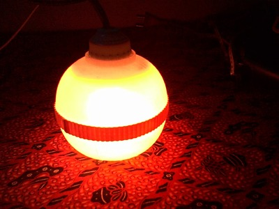 Handmade _ Lampu Hias Lampion Dari Botol Bekas _ Decorative lights Lantern Of Bottles Used