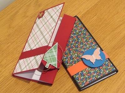 Handmade Magnetic Closure Pocket Notebook Tutorial