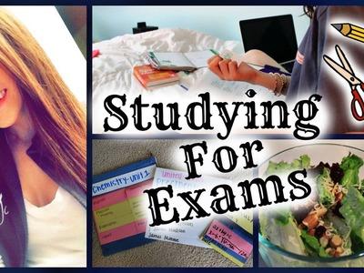 How I Prepare for Exams | DIY Study Book, Power Snacks, & More!