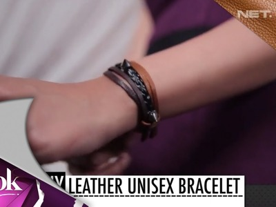 ILook - DIY - Leather Unisex Bracelet