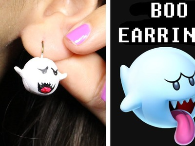 Boo Earrings DIY ♥