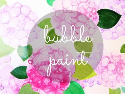 Bubble Paint DIY | Hue Chi