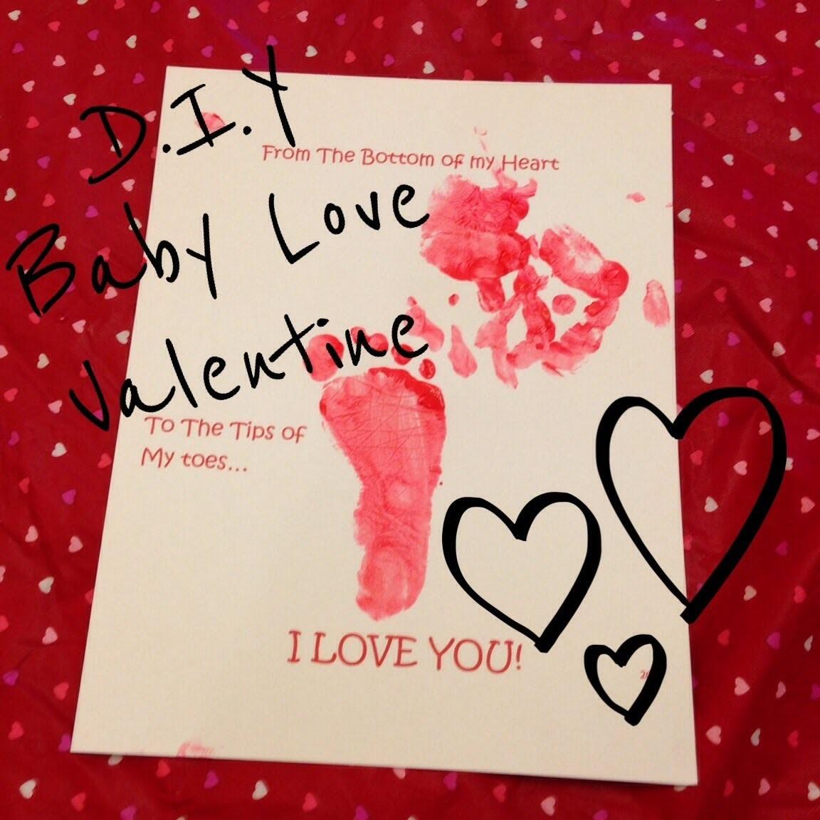 "D.I.Y: ""Baby Love"" Valentine"