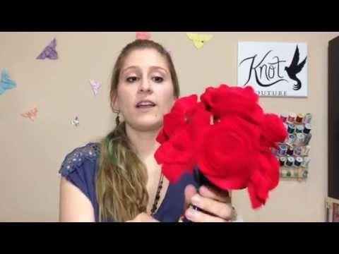 DIY Bouquet: Felt Roses