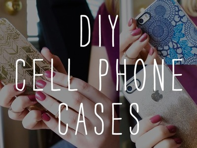 DIY: Cell Phone Cases