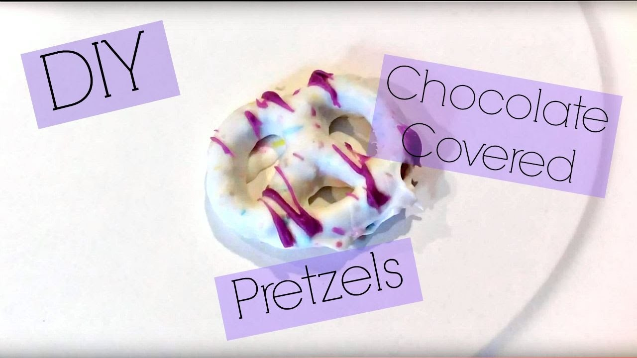 DIY Chocolate Covered Pretzels! (Using gluten free ingredients)