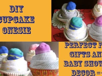 DIY Cupcake Onesies