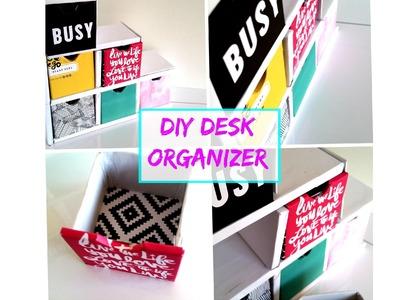 {DIY} Desk Drawers - Back 2 School