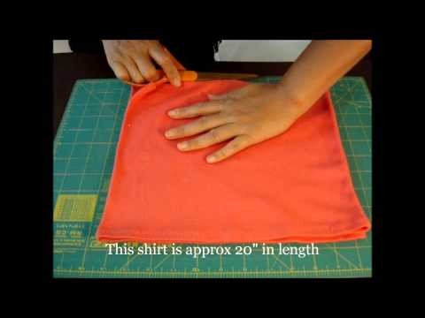✂ DIY Dog Clothes: Make Easy 5min Pattern Free Spaghetti Shirt for D-2014-wahab418