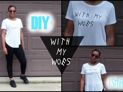 DIY Drake Inspired Shirt| Jasmyn Smalls