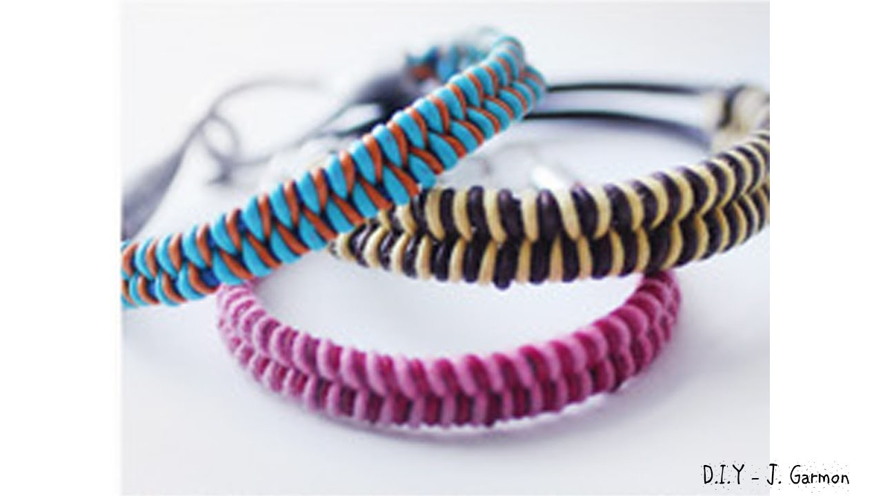 DIY FASHION IDEAS - D.I.Y - FISHTAIL BRAID BRACELET