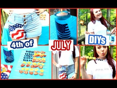 DIY Fourth of July: Apparel, Snacks, + Decor!
