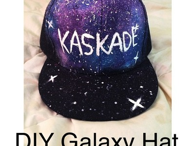 DIY Galaxy Hat