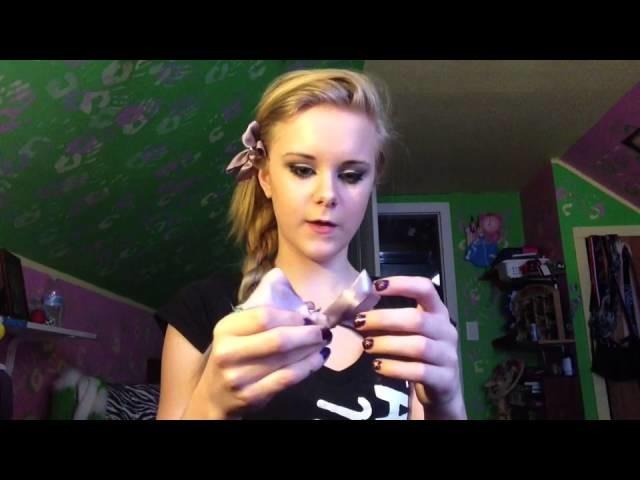 DIY: Hair Accessories: Bow Pin, Bow Hair Tie, Bow-CEPTION
