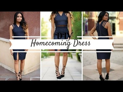 DIY Homecoming Dress 2015