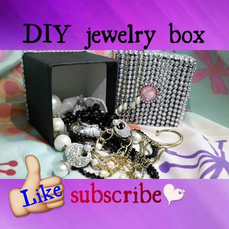 DIY jewelry box ❤
