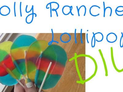 DIY Jolly Rancher Lollipops || Daisy Blake