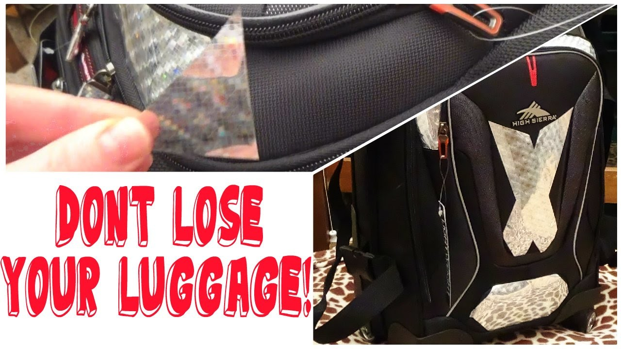 DIY Luggage Makeover Easy & Cheap (Dont Lose Your Luggage!)