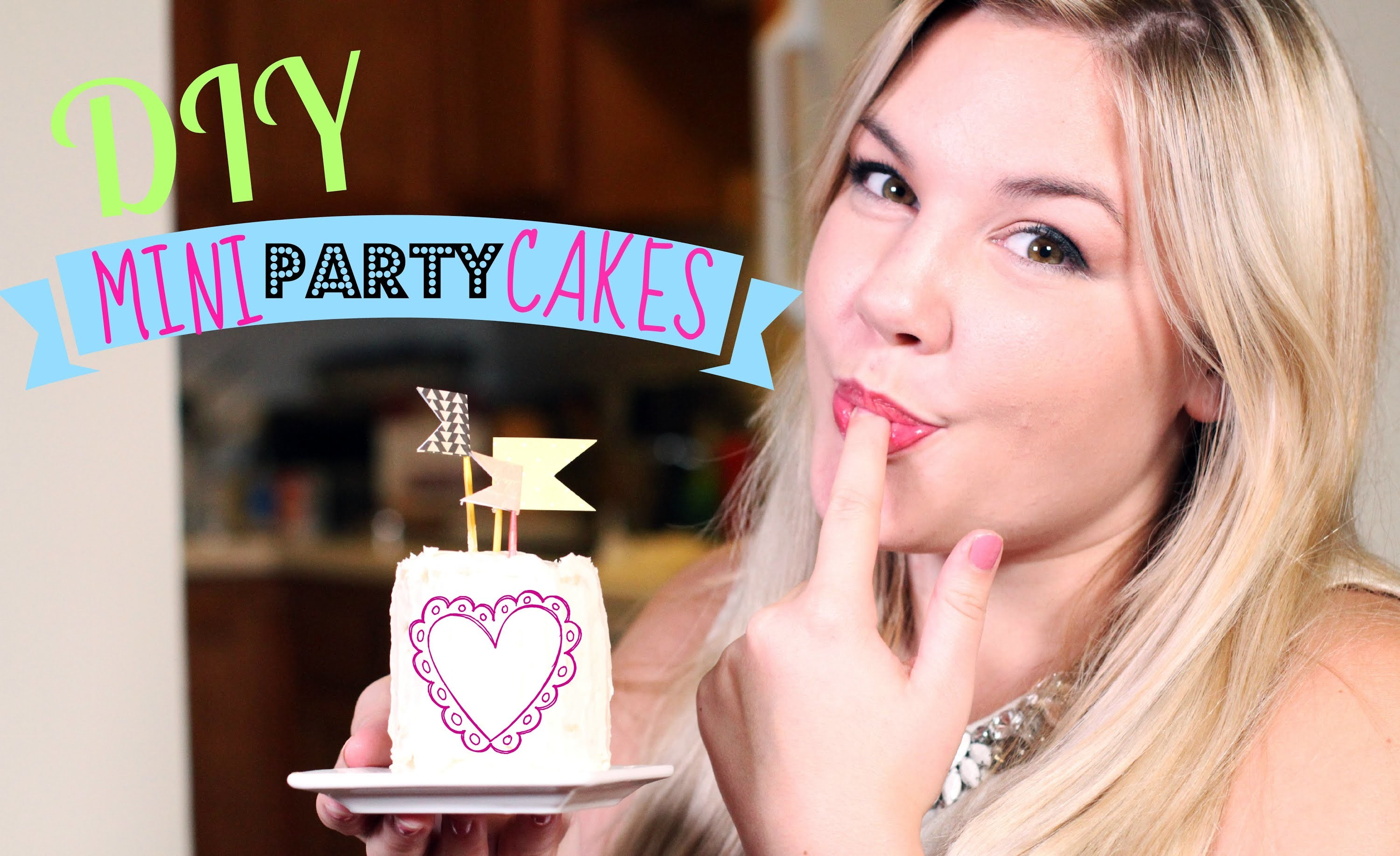 DIY Mini Party Cakes