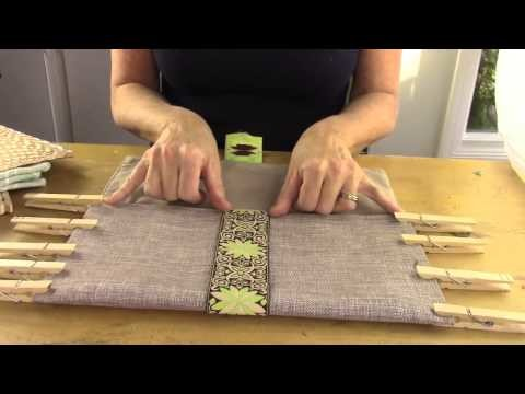 DIY No Sew Placemat Purse | Michele Baratta
