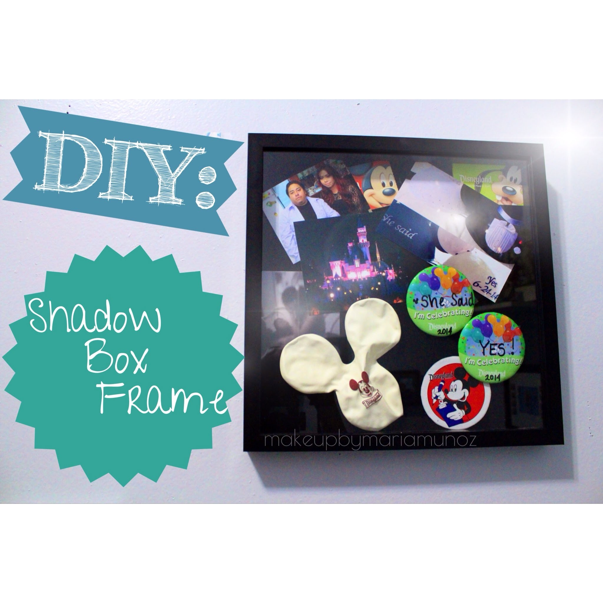 DIY Shadow Box Frame