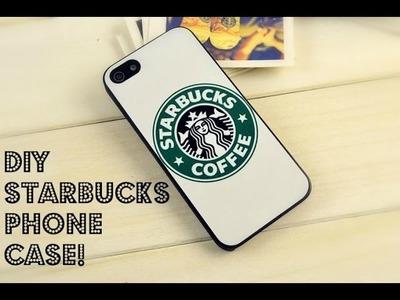 DIY Starbucks Phone Case! ☏