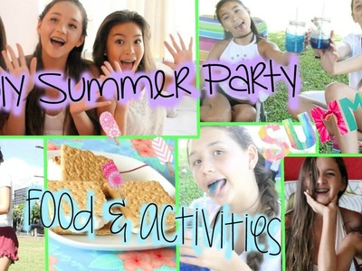 DIY Summer Party: Food & Things To Do