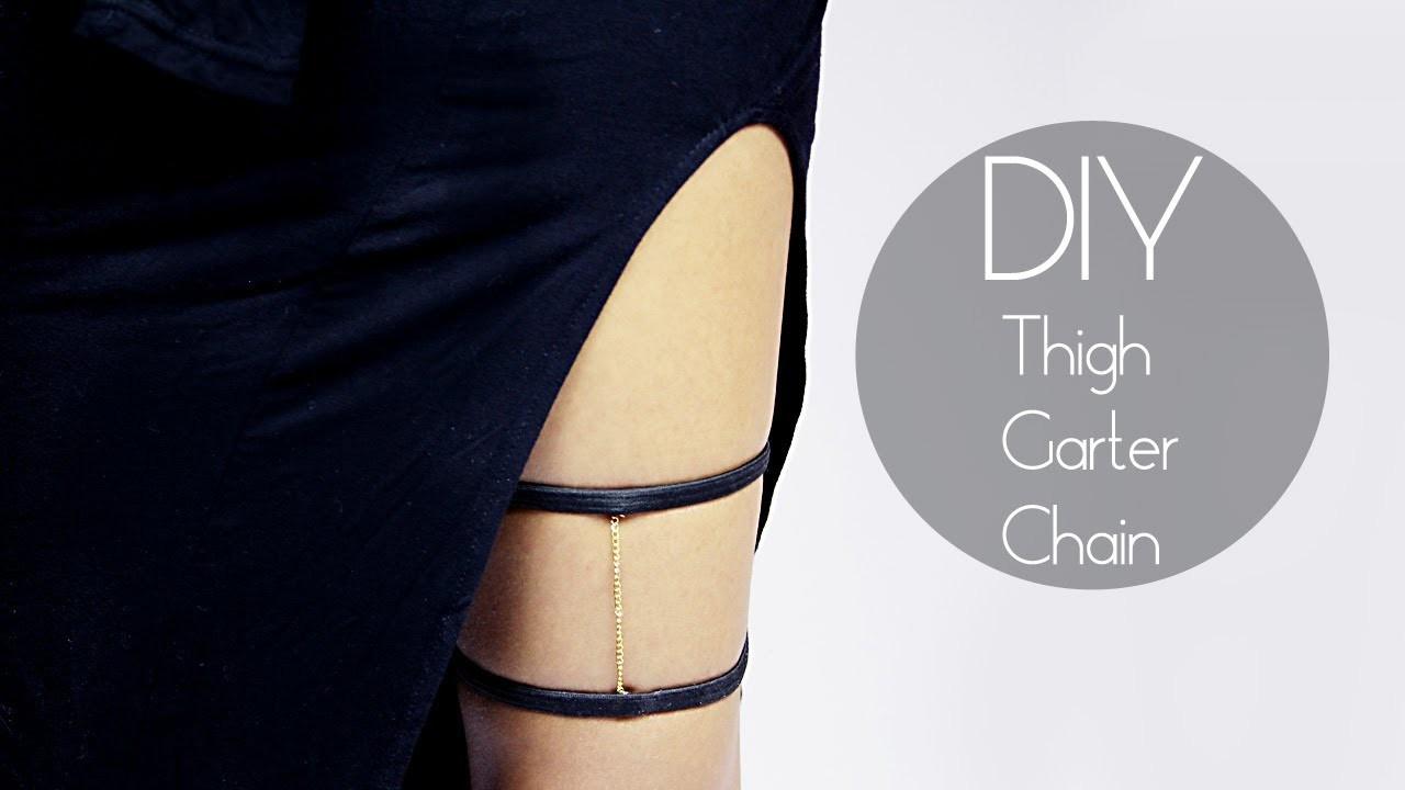 DIY Thigh Garter Chain