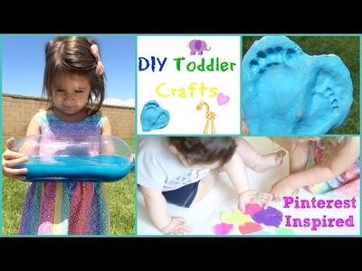DIY Toddler Activities | Pinterest finds