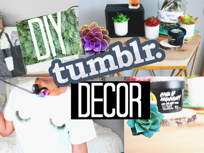 DIY Tumblr Spaces: Decor + Fashion