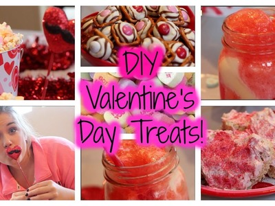 DIY Valentine's Day Treats! (EASY & DELICIOUS)