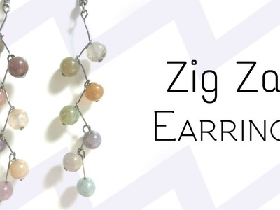 DIY Zig Zag Earrings