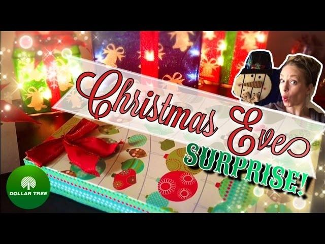 DOLLAR TREE DIY | Christmas Eve SURPRISE!