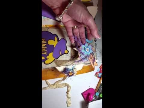 Handmade Winnie-the-Pooh journal