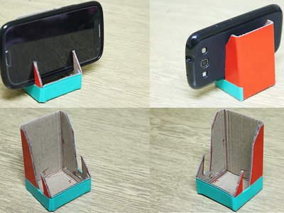 How to make a phone stand - DIY phone stand
