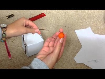 Rat toy idea-DIY hanging treat box