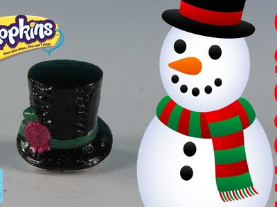 Shopkins Custom Repaint DIY | Frosty The Snowman Magical Hat | PSToyReviews