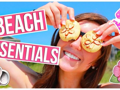 Summer Beach Essentials 2015! + DIY Snacks!