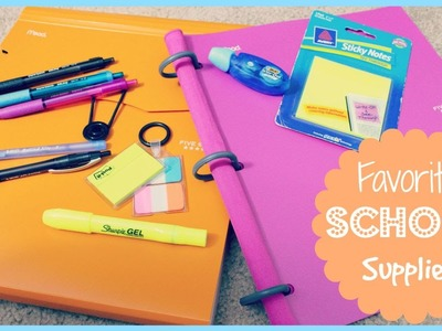 Top 10: Favorite School Supplies | Alexa's DIY Life
