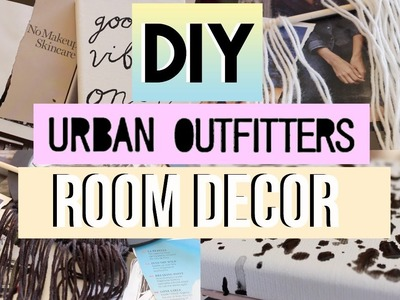 Urban Outfitters Inspired DIY Decor